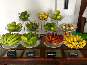 jetwing sea hotel negombo breakfast sri lanka fruits